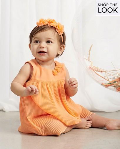 Festive et aérée en orange